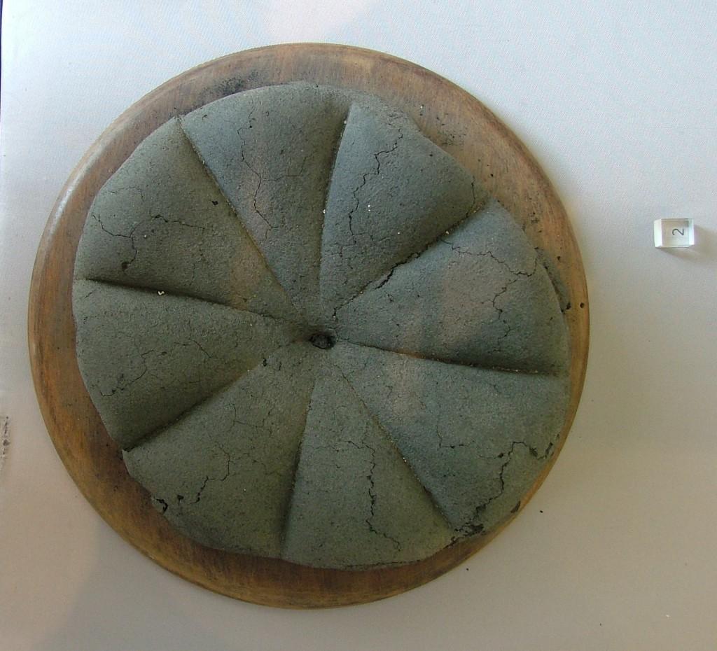 chleb pompejański z I w n.e. na licencji Creative Commons źródło Wikipedia