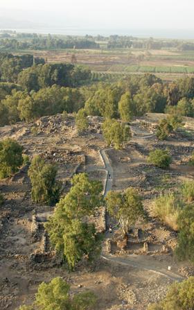 Teren wykopalisk w dawnej Betsaidzie Źródło