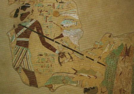 malowidzło z grobowca Anchtifi źródło