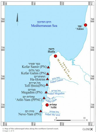 mapa zatopionych osad źródło