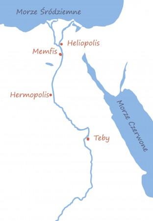 Główne egipskie centra religijne