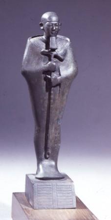Egipski bóg stwórca z Memfis -  Ptah. Źródło