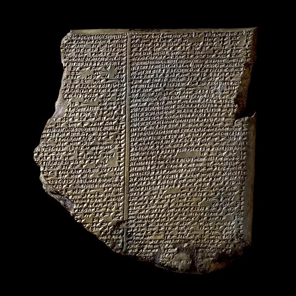 Tabliczka o potopie z eposu o Gilgameszu. Żródło
