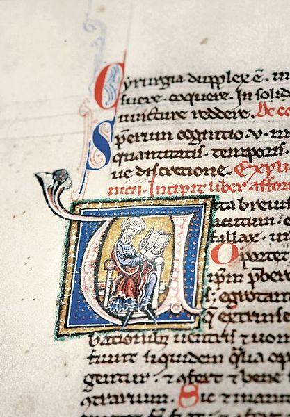Manuskrypt, detal. Źródło