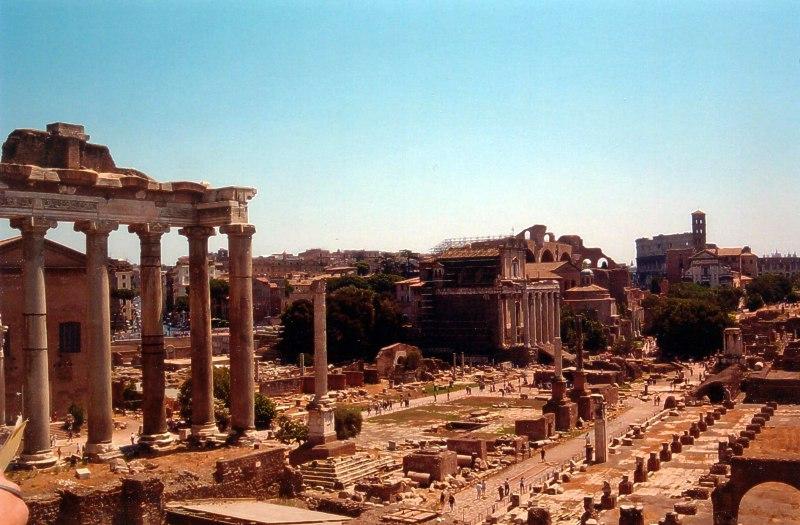 Forum Romanum Źródło