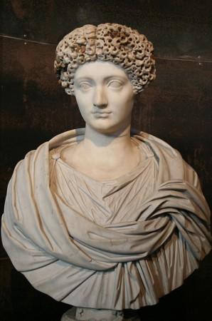Julia Flavia, córka cesarza Tytusa, tego który zburzył Jerozolimę w 70 r n.e. Źródło