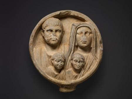 Rzymska rodzina z II/III w n.e. Żródło