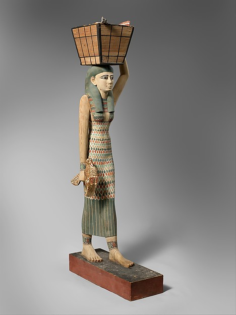 Niesmiertelny model egipskiej sukni. Tak ją noszono w II tys p.n.e. Źródło