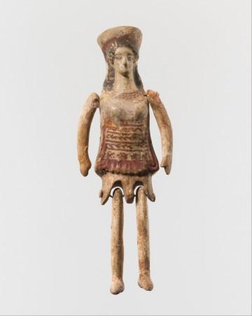 Lalka małej mieszkanki Koryntu z V w p.n.e. Źródło
