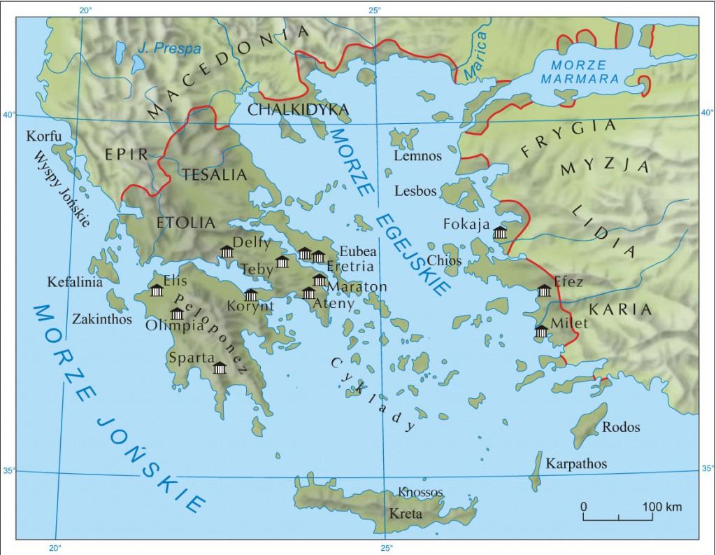 Starożytna Grecja. Źródło