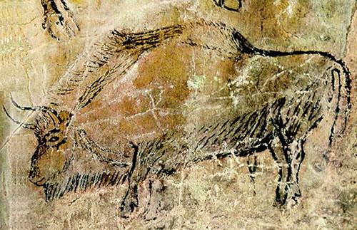 Takie rysunki mozna zaleźć w niektórych jaskiniach. Nie zła kreska prawda? Źródło