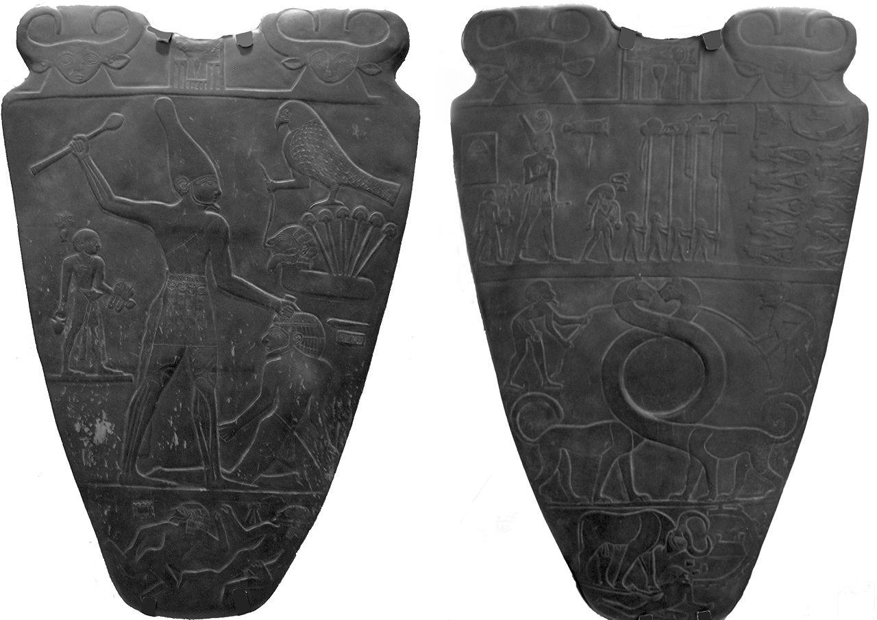 Cała paleta Narmera. Źródło