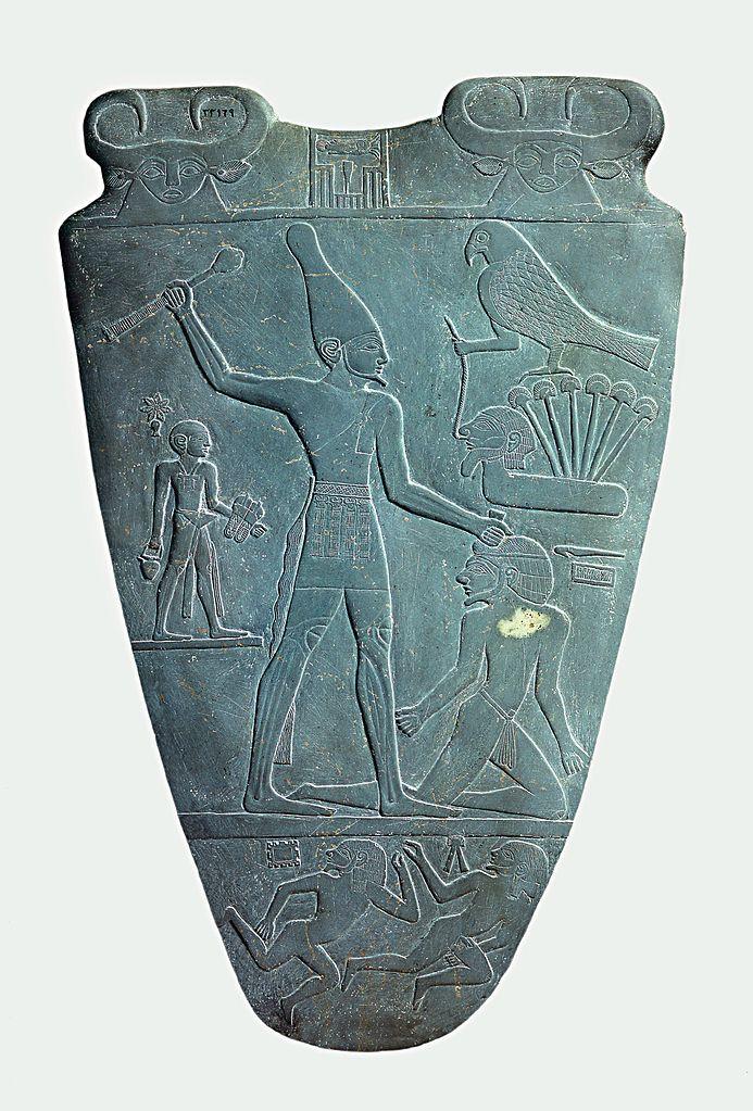 Narmer i jego berło/maczuga. Źródło