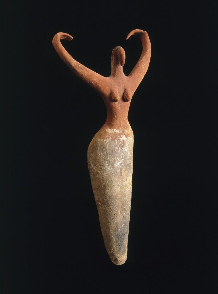 To jedna z moich ulubionych figurek w ogóle a pochodzi właśnie z Egiptu i ma 5500 lat. Możecie ja zobaczyć w Brooklyn Museum. Źródło